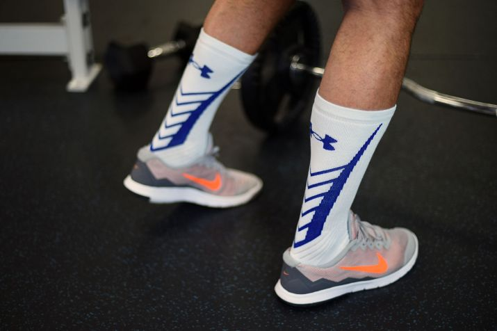 Socks: Under Armour // Shoes: Nike