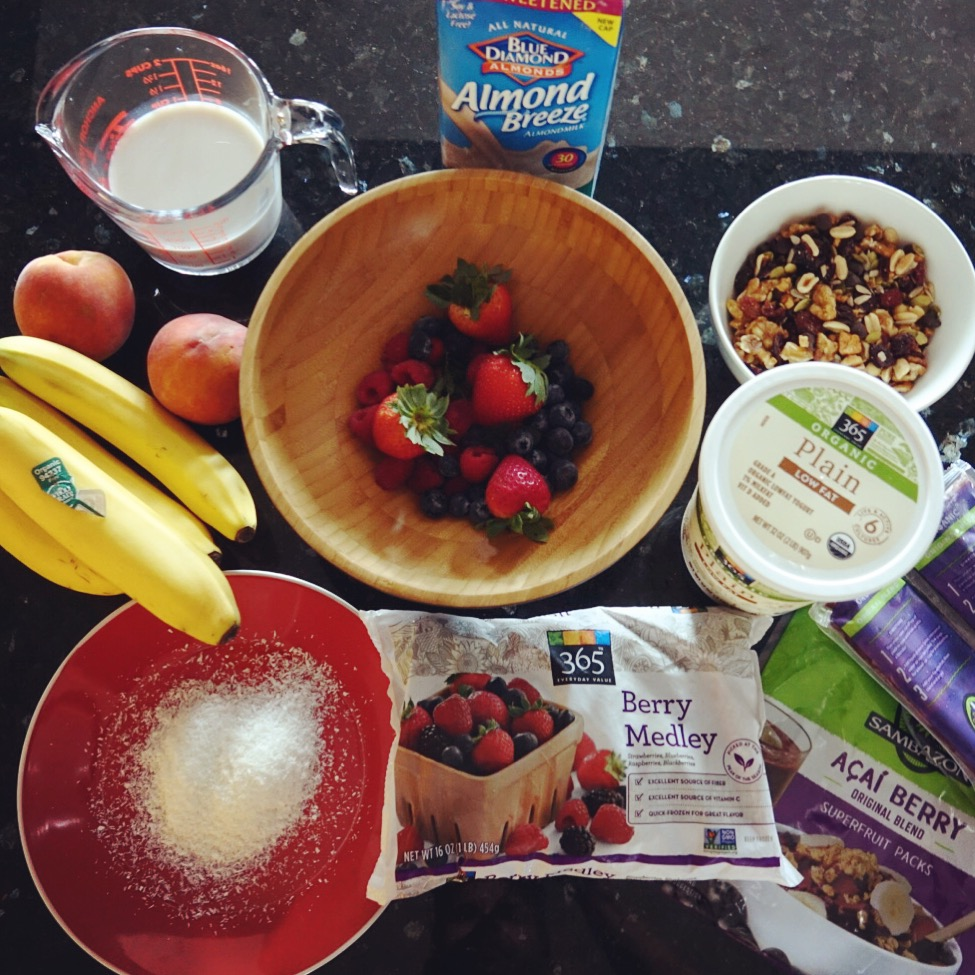 acai-protein-bowl-ingredients