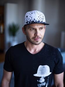 Shirt: Hugo Boss // hugoboss.com   Hat: Gents // gents.com