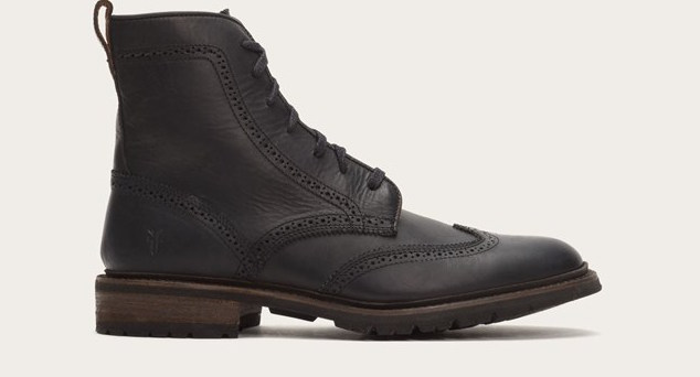 James Lug Wingtip Boots | thefryecompany.com