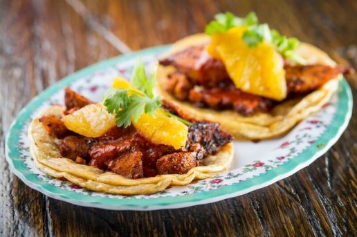 Pork Belly al Pastor Tacos